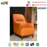 Новый итальянский современный вид в разрезе гостиной кожаный диван (HCS01)