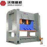 Máquina de perfuração do metal de folha de 500 séries da tonelada Jw36 com embreagem molhada