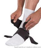 Venta caliente compresión ajustable de neopreno transpirable en apoyo de tobillo para gimnasio