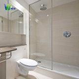 Lamelliertes ausgeglichenes Glas für Badezimmer-Türglas/Shower-Raum-Glas mit Befestigungsteil-Scharnier