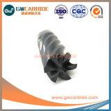 Carbure de tungstène carbure solide Endmill Ctx fin Mill