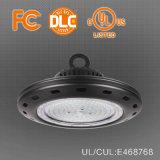 방수 100W 150W 200W 산업 UFO LED 높은 만 빛을 점화하는 실내 Highbay 전등 설비 창고