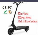 """roda dois poderosa de 400W 500W que dobra o """"trotinette"""" elétrico para o adulto"""