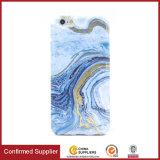 Novo design de textura de mármore chegada TPU suave pele tampa do telefone