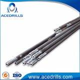 Ferramenta de tunelamento Threaded R32 tubo de extensão da haste da broca