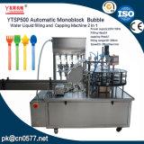 De automatische Vloeistof die van het Water van de Bel Monoblock en het Afdekken Machine (YTSP500) vullen