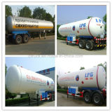 40000L Eixos Twin Semi-Trailer GPL