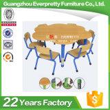 판매를 위해 놓이는 조정가능한 꽃 모양 6-Seater 아이 테이블 의자