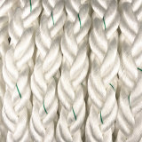 La corde tressée de nylon du brin 80mm de la qualité 8 Ropes des brides de chaîne de caractères pour la navigation