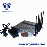 5 Band Cellphone Wi-Fi Signal Jammer with Remote Control+Omnidirectional Antennas