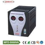 Affichage numérique de haute qualité accueil stabilisateur automatique de tension 5000VA