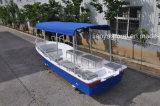 Bateau de pêche de bateau de fibre de verre de bateau de pêche de fibre de verre de rouge de Liya 5.8m