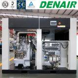 60Hz 75kw-100HP Twee Compressor van de Schroef van de Olie van Stadia de Vrije niet-Gesmeerde Droge Roterende