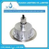 Indicatore luminoso subacqueo impermeabile della piscina dell'acciaio inossidabile LED di IP68 DC12V 24V