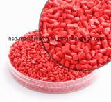 De Rode Plastic Korrels van pp Masterbatch Remafin Deko Granulat 25kg