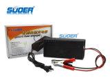 Cargador de batería automático portable aprobado de Suoer RoHS 10A 24V (SON-2410B)