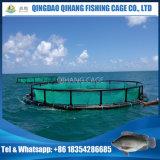 水産養殖の浮遊ケージを耕作するタイの耕作するか、またはチョウザメ
