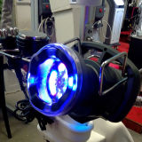 Grosse rotation de gros déplacement avec la machine légère rouge et bleue de PDT de beauté