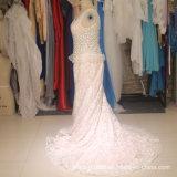Отбортовывать мантию ND15 венчания шнурка Mermaid платья венчания Bridal