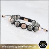 Kundenspezifische Macrame-Großhandelsarmbänder, Seil-Armband Mjb006