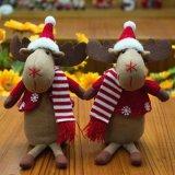 Decoratie 2018 van Kerstmis het Nieuwe Stuk speelgoed van de Gift van de Elanden van de Aankomst