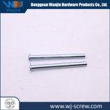 Настраиваемые серебряный анодированный алюминий с покрытием круглый цилиндрический винт контакт