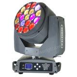 Disco lumière 6pcs 15W dans 1 LED RGBW Bee déplacer la tête de l'oeil