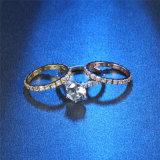 نمط مجوهرات مع ثلاثة ألوان بسيطة أسلوب حلقة مجوهرات محدّد