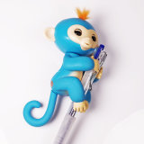 Stuk speelgoed van het Huisdier van de vinger het Elektronische Weinig Wow Heel kleine Aap van de Baby van de Jonge vis
