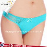 El algodón inferior de la cintura de las mujeres atractivas de las bragas de las mujeres resume las correas de las G-Cadenas de la ropa interior