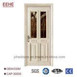 ماليزيا [هلف موون] باب زجاجيّة صلبة خشبيّة