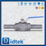 Vávula de bola asentada suave de flotación de los finales roscados A105 de Didtek