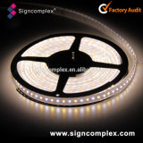 Iluminación flexible 12V de la tira LED de Signcomplex 3528 W/Nw/Ww IP20