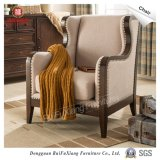 W332 Ruifuxiang Cadeira de lazer de estrutura de madeira de carvalho