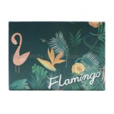 Бумага Нестандартный Фламинго упаковка подарочная упаковка, установите флажок зерноочистки
