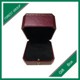 Роскошным напечатанная логосом бумажная коробка ожерелья кольца Jewelry/