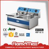 Friggitrice elettrica/in profondità friggitrice con approvazione del CE (HEF-906C)
