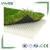 인공적인 뗏장 잔디밭 잔디를 가진 조경 인공적인 잔디