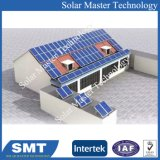 부류 Photovaltaic 도와에 의하여 투구되는 지붕 태양 전지판 설치