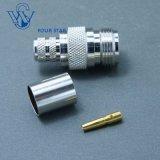 Prise jack femelle à sertir N connecteur coaxial RF pour câble RG213