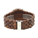 Вахты кварца людей Wristwatch способа вахта логоса нового роскошного деревянного изготовленный на заказ
