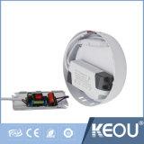 Lumière ronde commerciale/d'intérieur de Ce/RoHS de 2700K-6500K 18W DEL de panneau de plafond