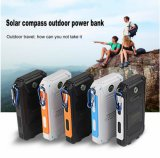 Hersteller Powerbank Doppel-Kompass-Sonnenenergie-Bank USB-8000mAh mit LED
