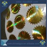 Stagnola di timbratura calda dell'ologramma dell'oro su ordinazione di alta qualità per la scheda