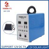 Sistema de iluminación de emergencia solar portátil para el hogar