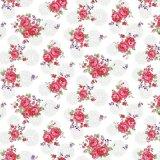 침대 시트를 위한 꽃 디자인 폴리에스테 직물 분산 직물