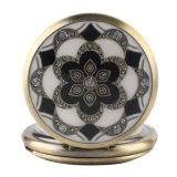 Zakhorloge van het Kwarts van de Bloemen van de Keramiek van de manier het Uitstekende Elegante Antieke