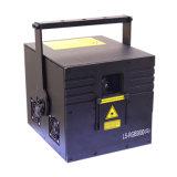 熱い販売のクリスマスのレーザー光線ショー屋内小型レーザーの淡いブルーのレーザー光線