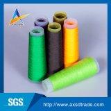 Fil à tricoter 100% teint par dopant de filé de fils de polyesters de DTY