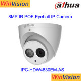 Dahua Poe IPのカメラ8MP 4K完全なHDの眼球Ipc Hdw4830emように